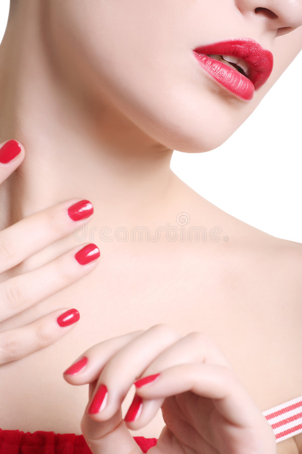 Red royalty free stock photo