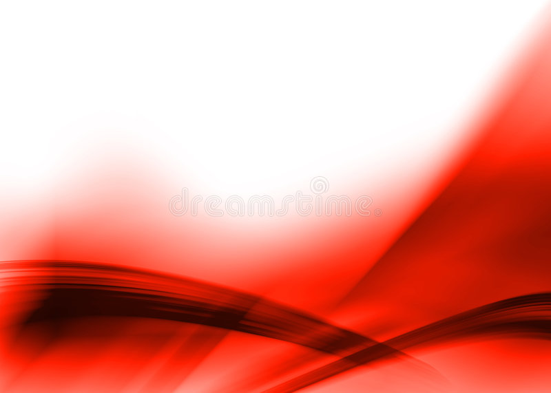 Red abstract royalty free illustration