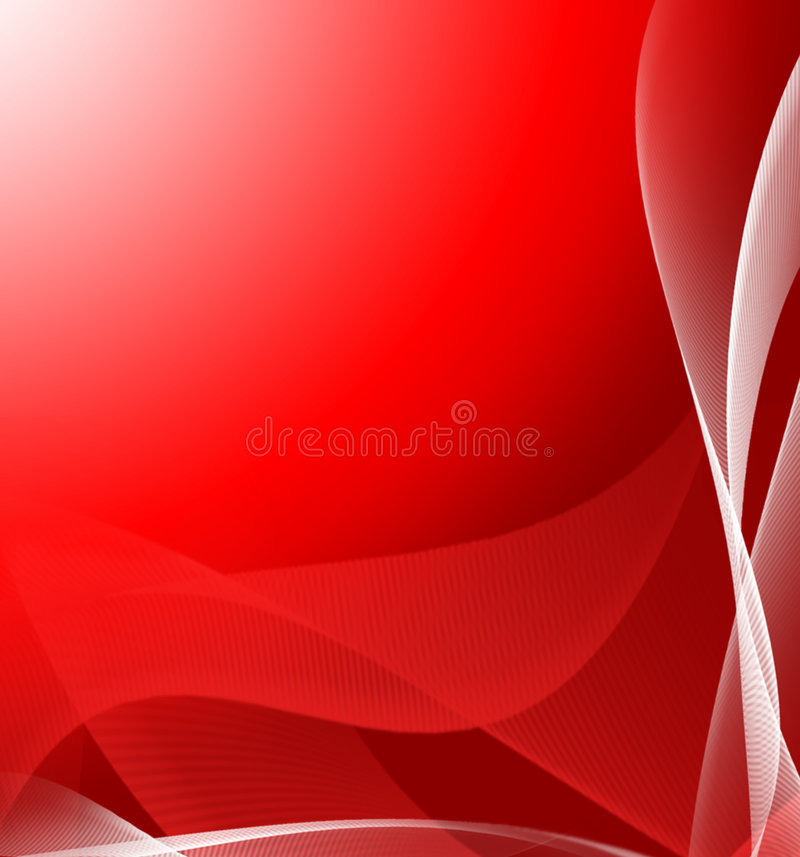 Red abstract background vector illustration