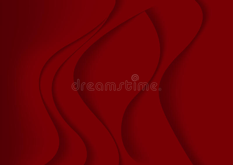 Red Abstract Background royalty free illustration