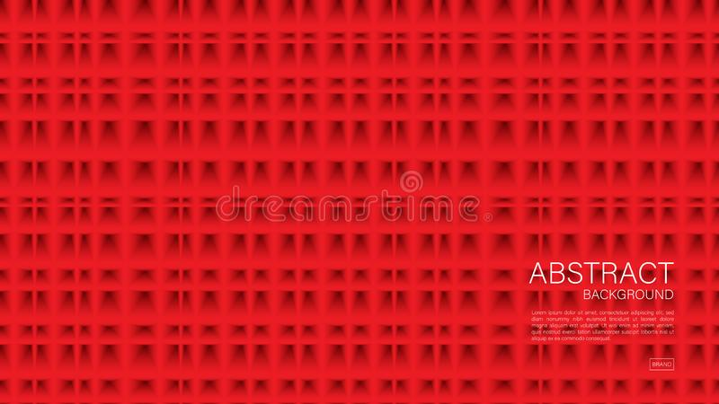 Red abstract background, Geometric vector, graphic, Minimal Texture, cover design, flyer template, banner, web page, book cover. Advertisement, printing vector illustration