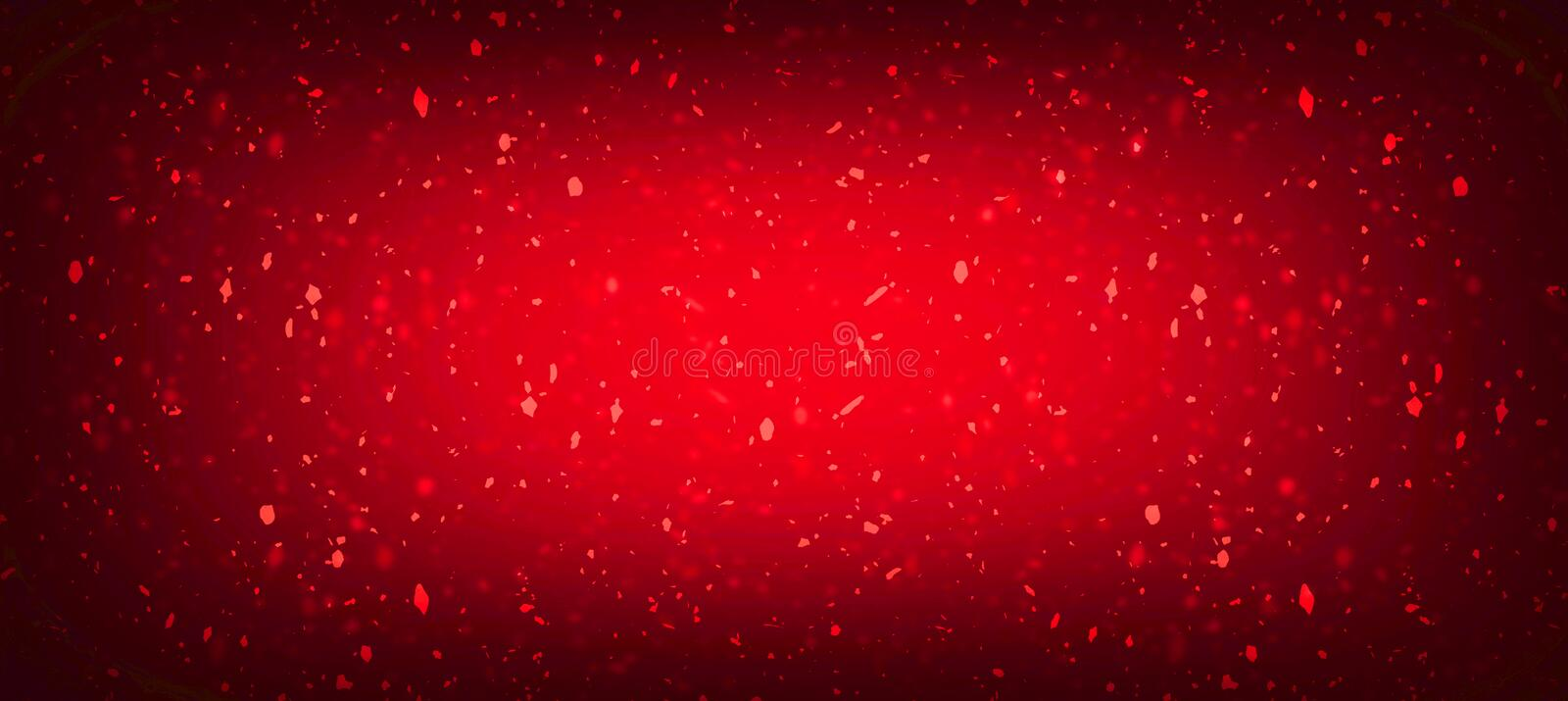 Red abstract background or texture Vintage Red Cracked Wall. Beautiful Grunge Background. royalty free illustration