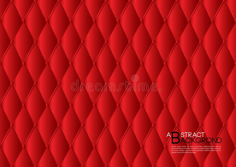 Red abstract background vector illustration, cover template layout, business flyer, Leather texture luxury. Can be used in annual report cover design, book royalty free illustration