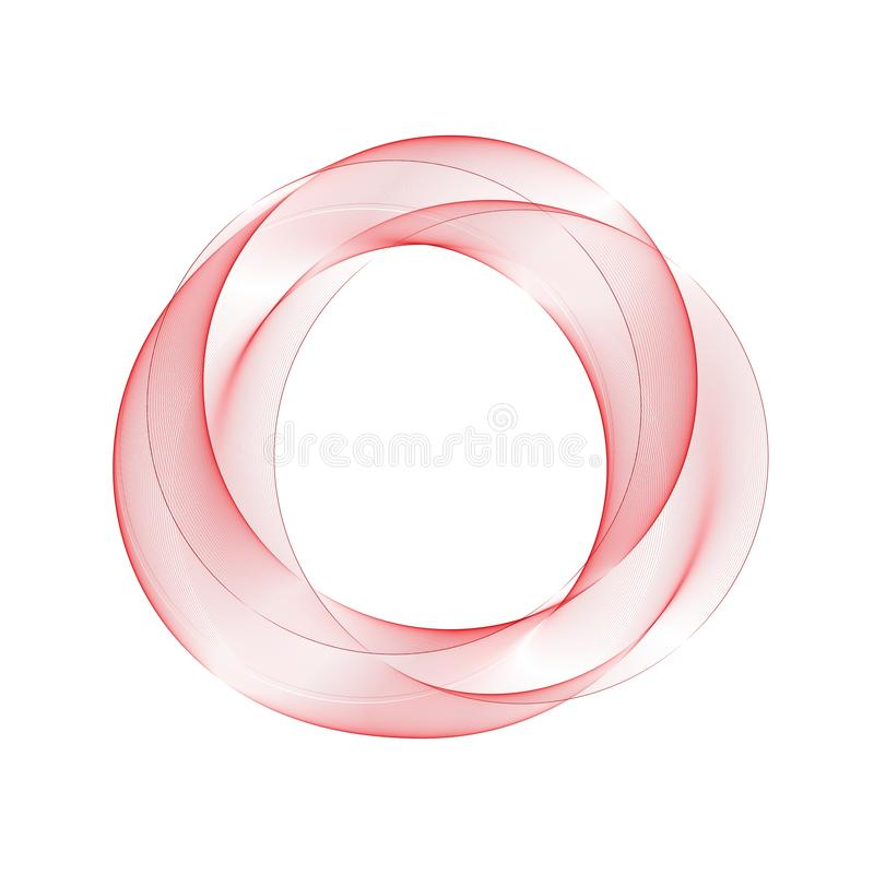 Red abstract circle. Layout for advertising. brochure design. eps 10 royalty free illustration