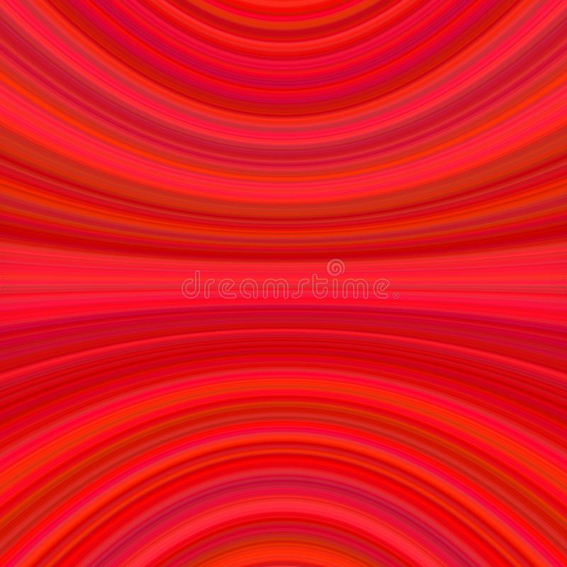 Red abstract dynamic background from thin curved lines vector illustration