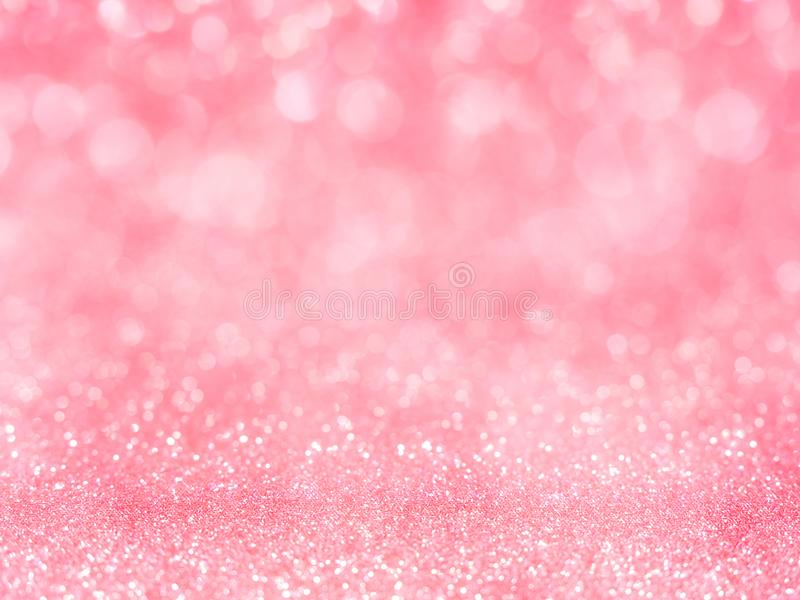 Red abstract glitter background with bokeh. lights blurry soft Gray for the romance background, light bokeh holiday party. Background for Christmas and New Year stock illustration