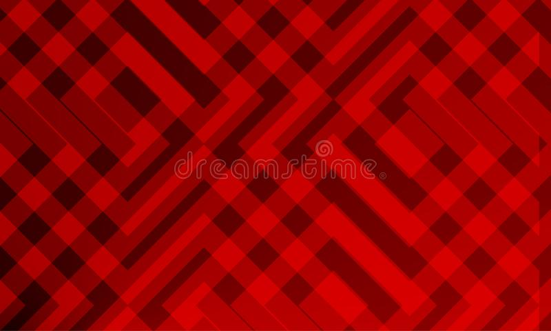 Red Abstract linning shed 3 d background wallpaper. Design, vector illustration