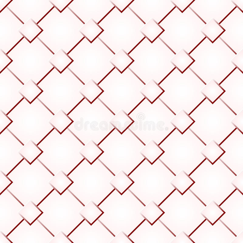 Red abstract seamless texture pattern. For background . Vector illustration stock illustration