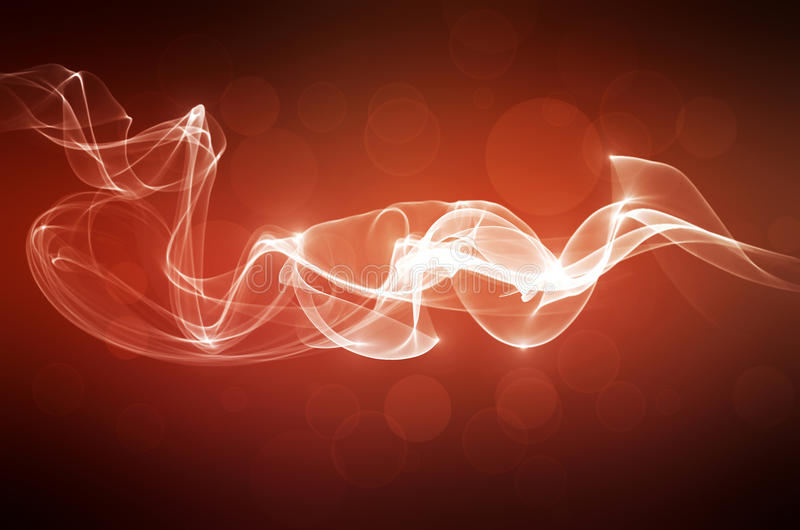 Red Abstract Smoke Background royalty free illustration