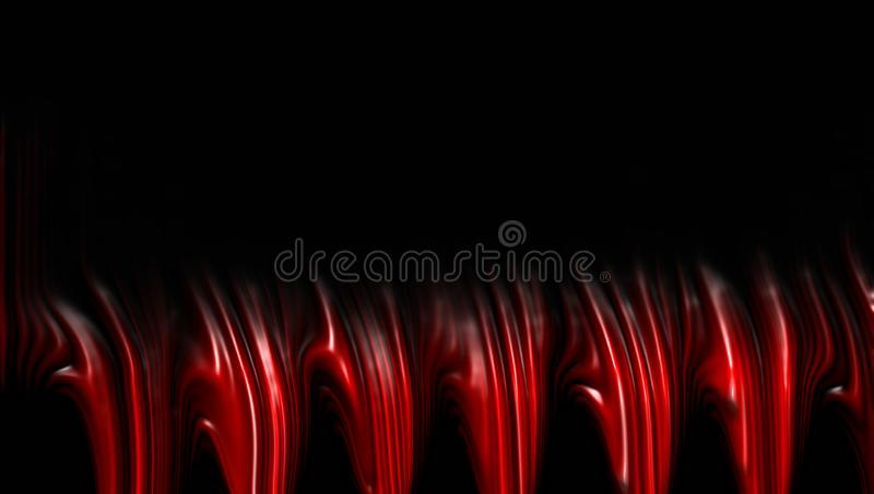 Red blur abstract background. royalty free stock photo