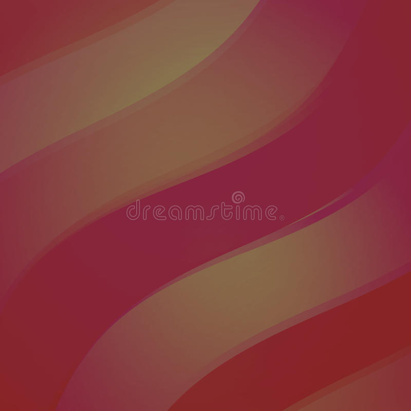 Red abstract wave royalty free illustration