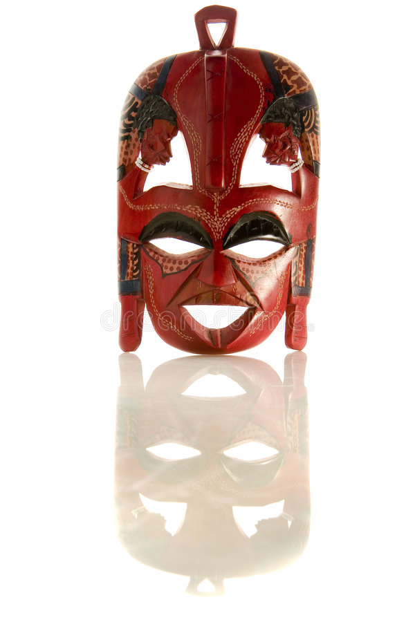 Free Red African Mask Stock Photo - 8140180