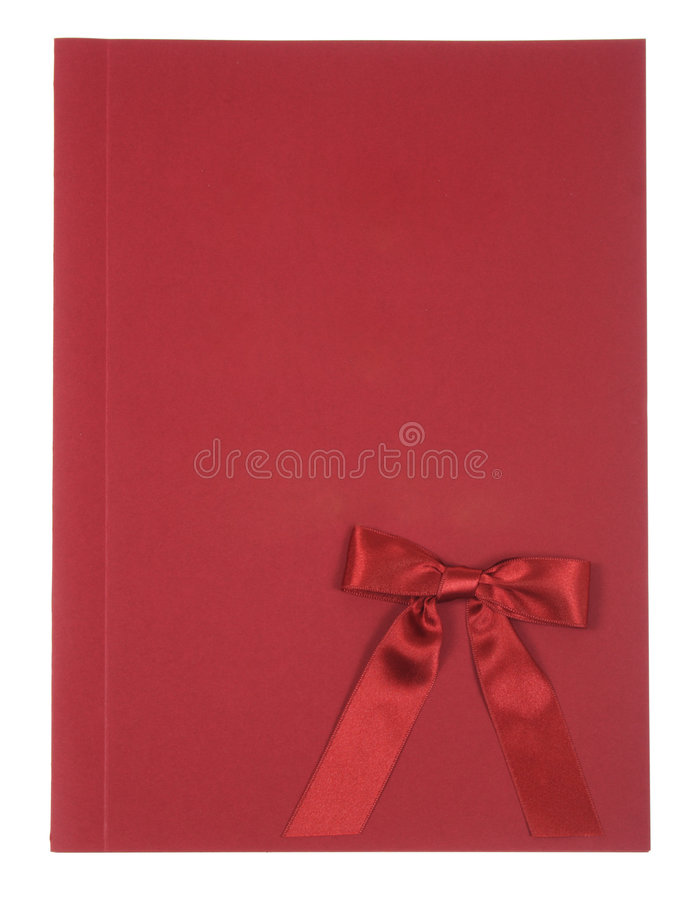 Red album royalty free stock photography