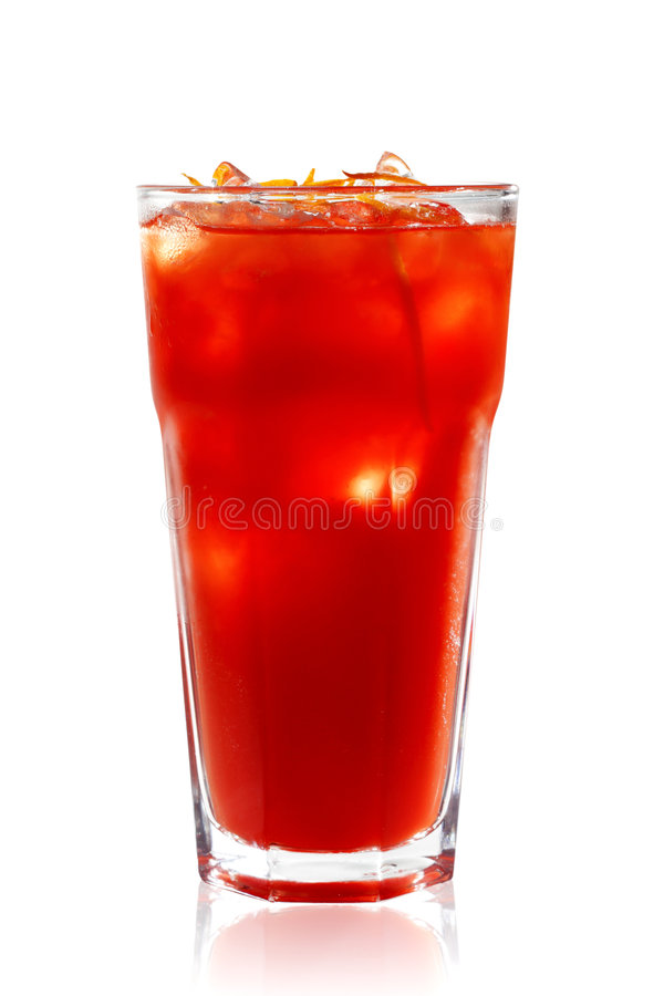 Red Alcoholic Cocktail Royalty Free Stock Photography