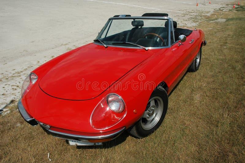 Red Alfa Romeo royalty free stock photo