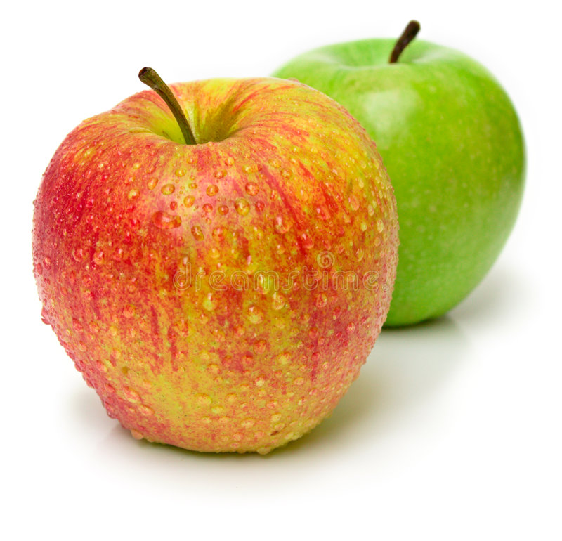 Free Red And Green Apples Stock Image - 6920171