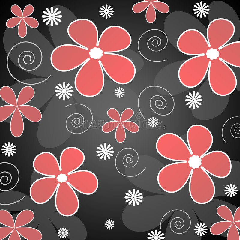 Free Red And White Flowers Royalty Free Stock Images - 1985689