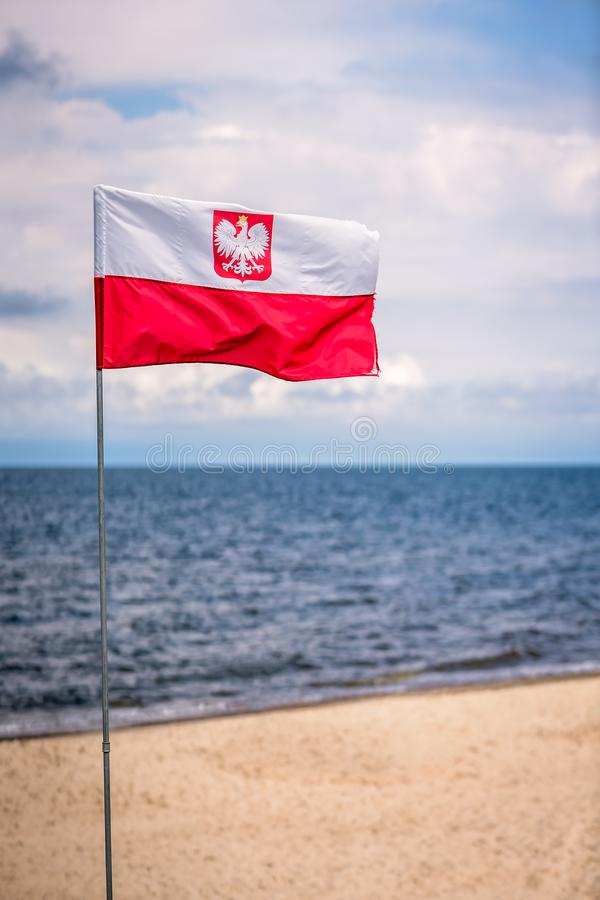 Free Red And White Polish Flag Stock Image - 101731581