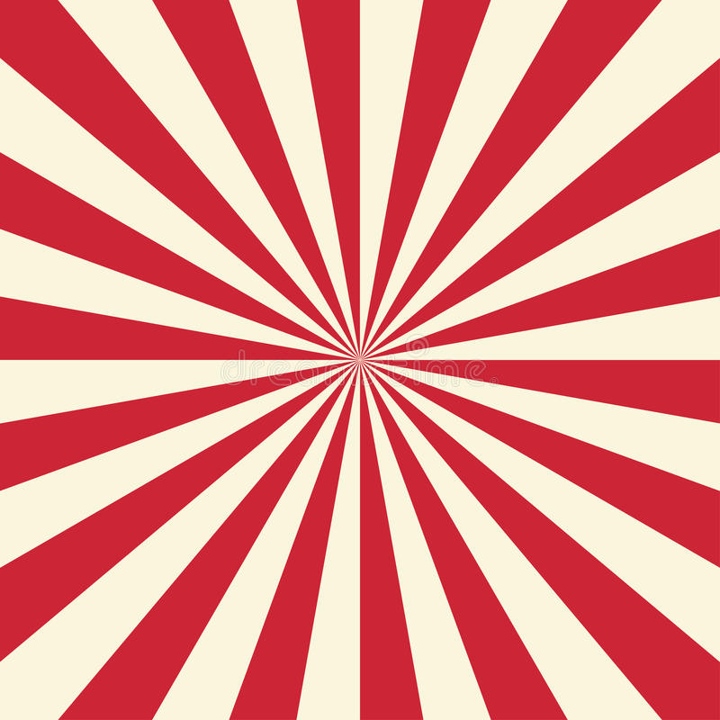 Free Red And White Sun Rays Background. Vector Illustration Stock Photo - 92289800