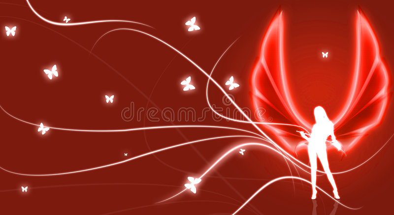 Red Angel illustration