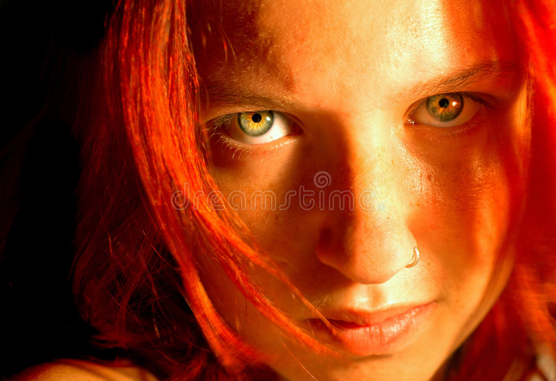 Red Anger stock photos