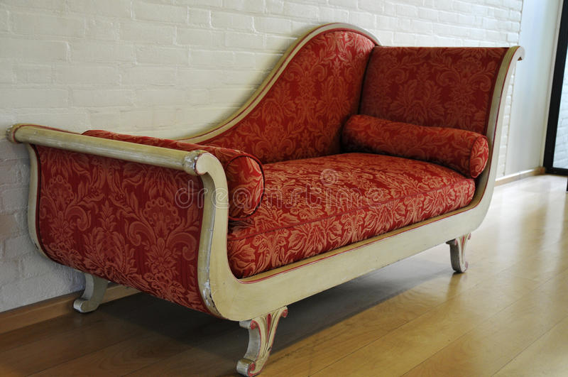 Download Red antique sofa stock image. Image of stylish, comfortable - 12997009