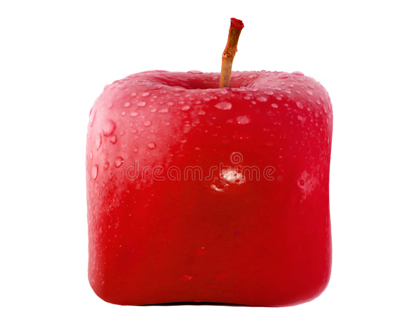 Download Red apple stock photo. Image of snack, fruit, granny, green - 4679544