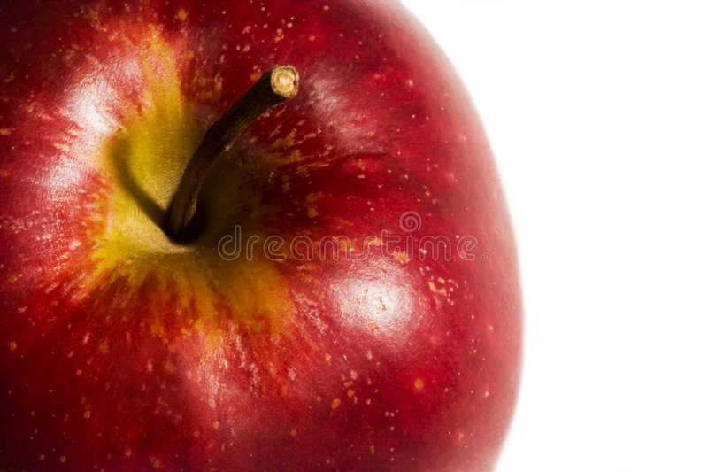 Download Red apple stock image. Image of background, snack, energic - 504359