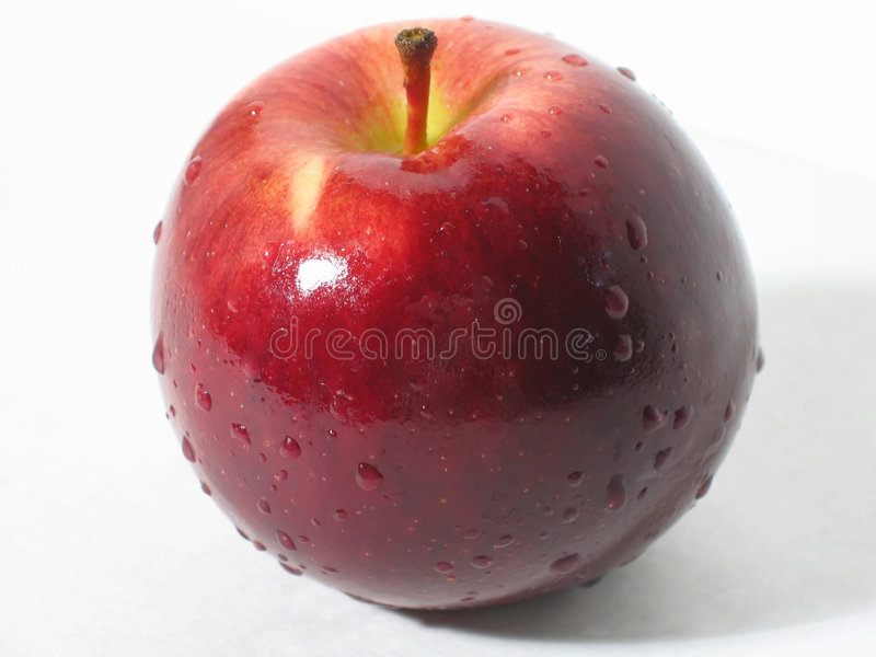 Download Red Apple stock photo. Image of washed, crunchy, delicious - 71288
