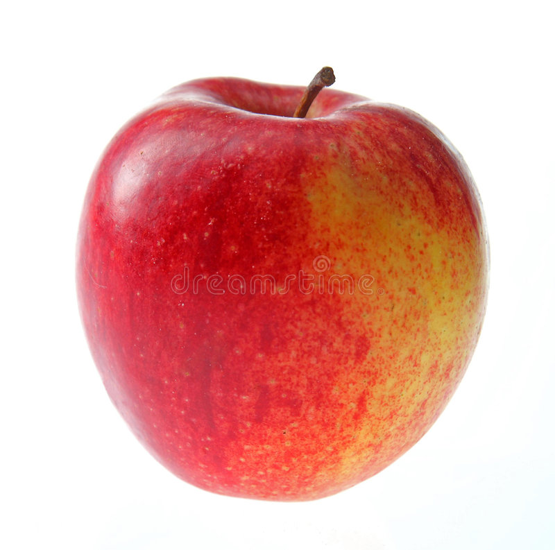 Red apple. stock photo