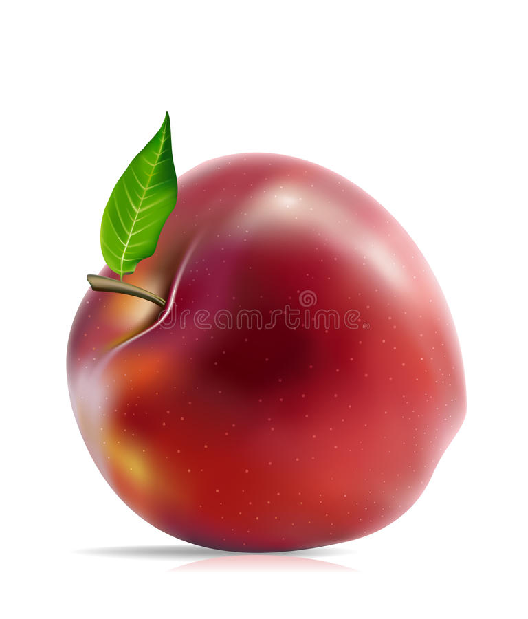 Free Red Apple Royalty Free Stock Image - 9643606