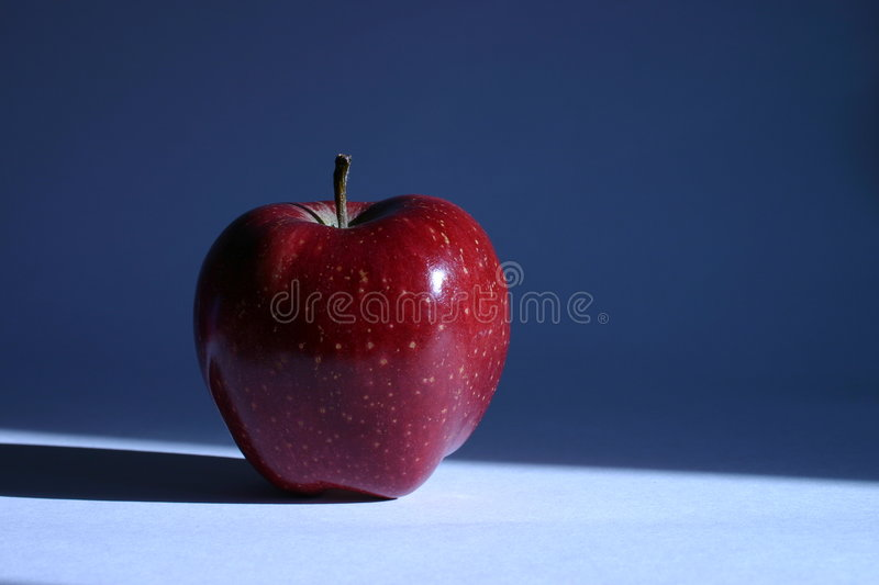Red Apple I royalty free stock photo