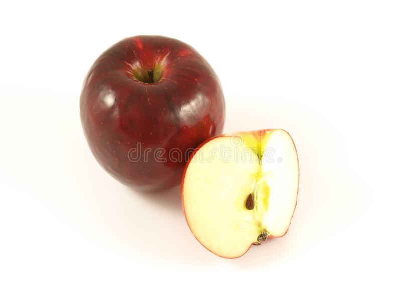 Download Red apple, isolated stock image. Image of background, fruit - 6810029