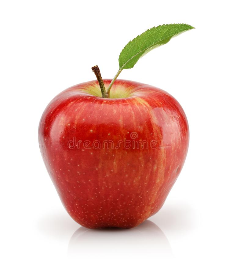 Free Red Apple Isolated On White Background Stock Images - 134396034