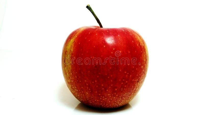 Red apple studio photo stock photo