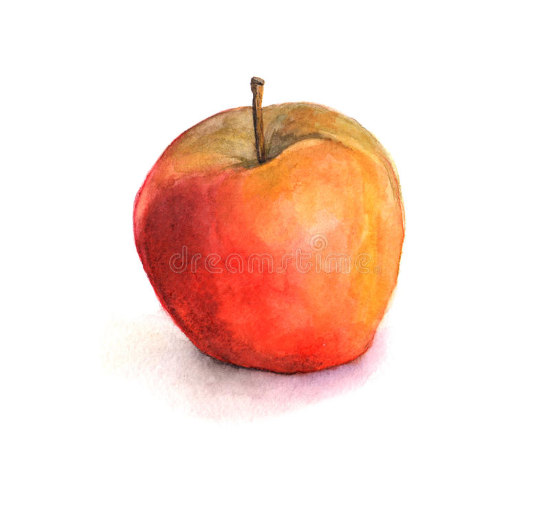 Download Red apple stock illustration. Illustration of picture - 41889716