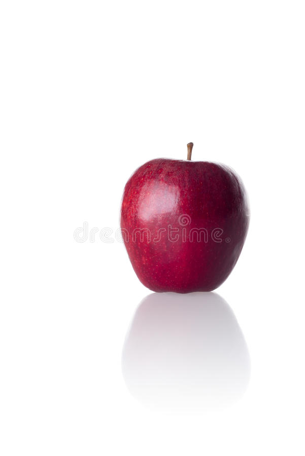 Download Red Apple On White Background Stock Image - Image: 33490367