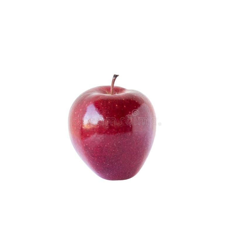 Red apple on white background. Modern vector illustration. - Vector. Illustration stock photo
