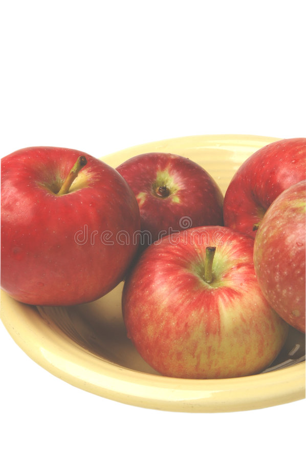 Red apples stock photography