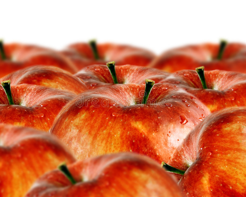Download Red apples background stock photo. Image of fresh, diet - 6652960