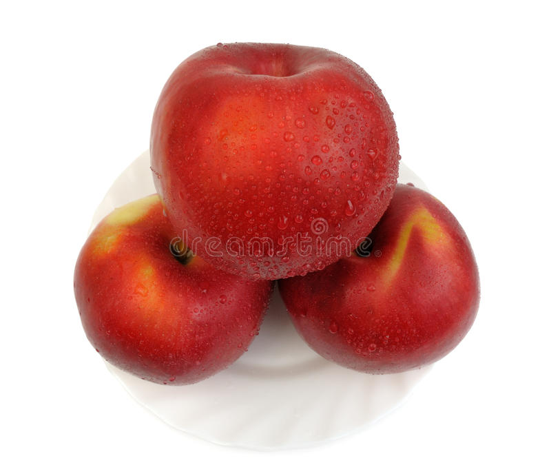 Download Red apples, isolated stock image. Image of food, refreshment - 11935555