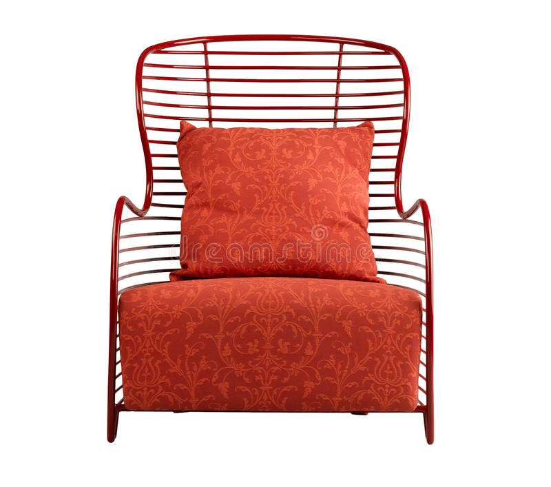 Download Red Armchair Royalty Free Stock Photography - Image: 28215427