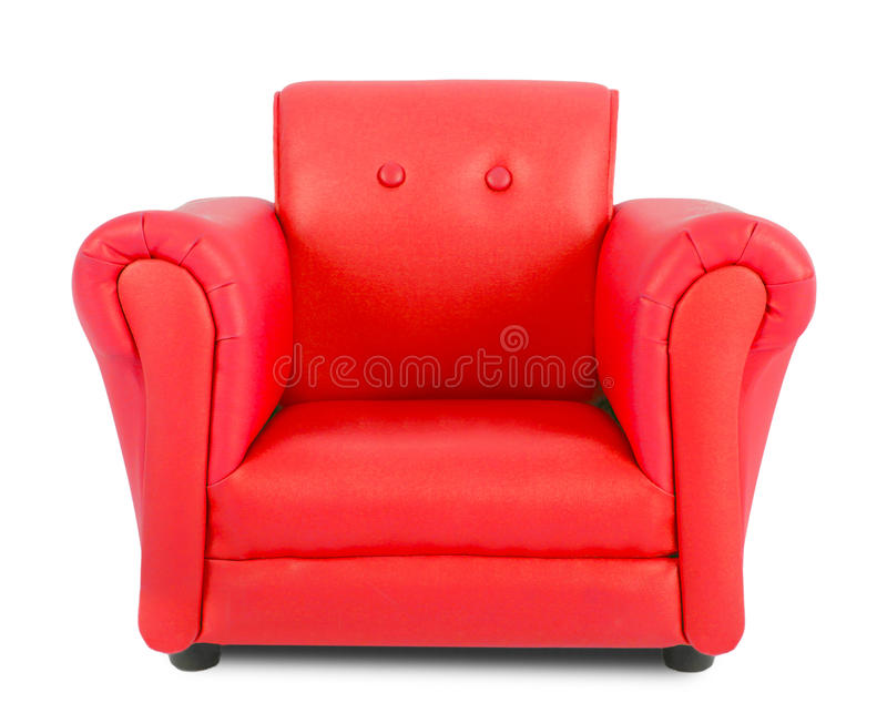 Download Red armchair stock image. Image of sofa, furniture, decorating - 31622249