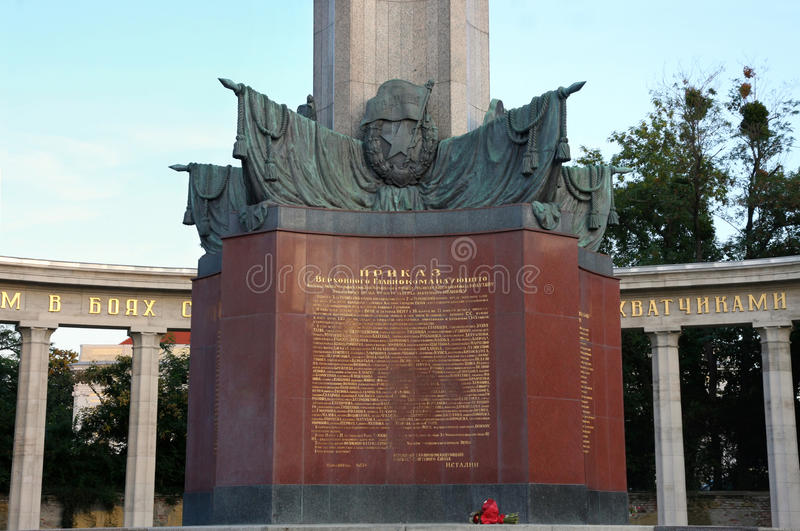 Download Red Army In Schwarzenbergplatz, Vienna, Austria Stock Image - Image: 26524659