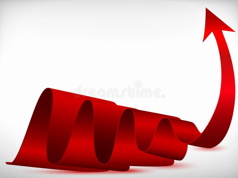Download Red arrow stock vector. Illustration of communication - 19269955