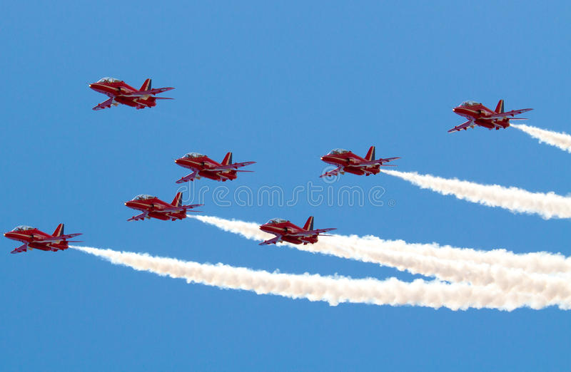 Download Red Arrows Editorial Stock Photo - Image: 26569793
