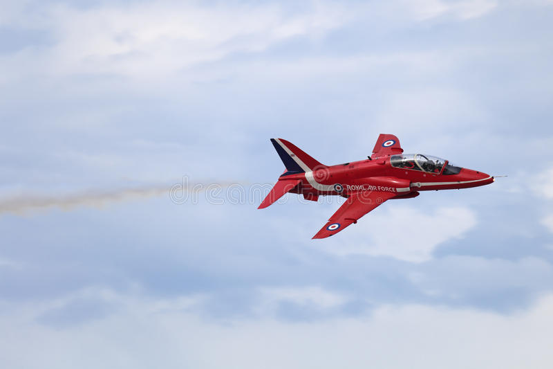 Download Red Arrows editorial stock image. Image of military, clouds - 27413014