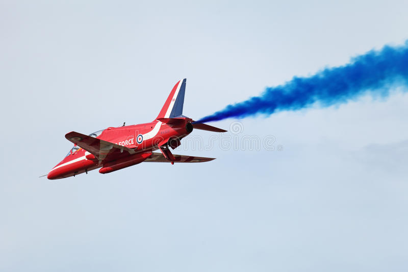 Download Red Arrows editorial stock photo. Image of great, plane - 27428968