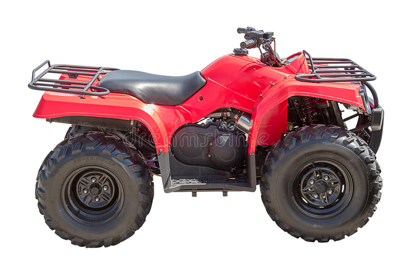Download Red ATV stock photo. Image of transportation, activity - 24880588