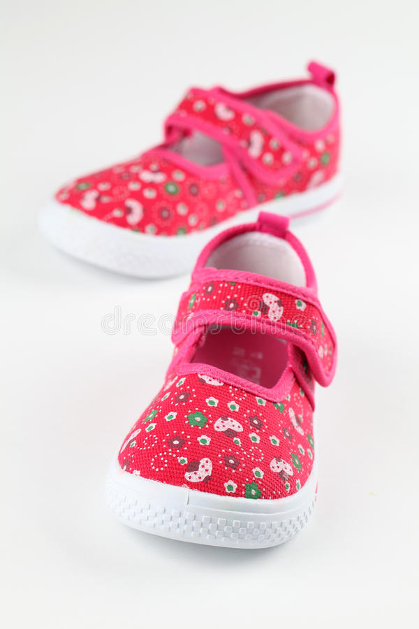 Free Red Baby Shoes Royalty Free Stock Photos - 26232268